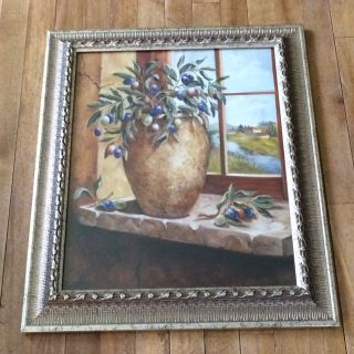 Decorative framed picture 24 x 20.5