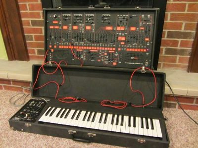 Vintage Arp 2600 Model 2601 modular synthesizer with a 3620 keyboard  $2200