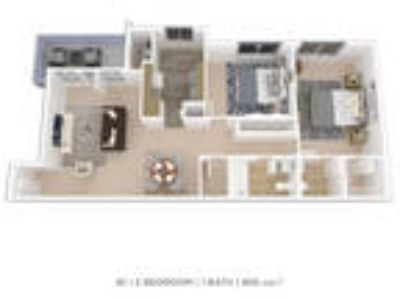 Stoneridge at Mark Center Apartment Homes - Two BR 1.5 BA