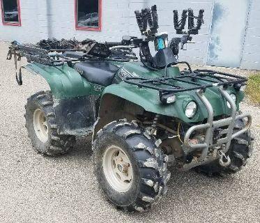 2002 Yamaha Big Bear 400 Utility ATVs Brilliant, OH