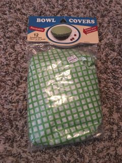 Brand New Bowl Covers 12 count ( reusable)