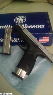 For Sale: S&W SD ve 9mm