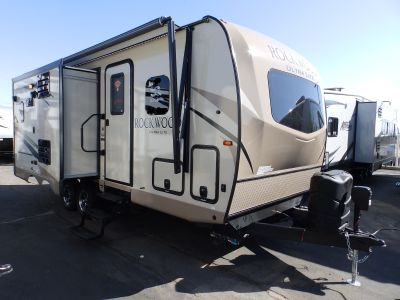 2019 Forest River ROCKWOOD 2304DS, 2 SLIDES, FRONT WALK-AROUND MURPHY BED, POWER STABILIZER JACKS, POWER AWNING, POWER TONGUE JACK, EXTERIOR BBQ
