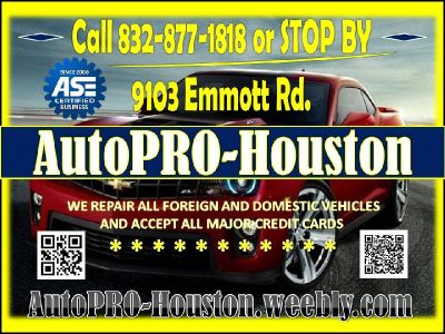 Auto Repair and Maintenance Houston Harris County TX