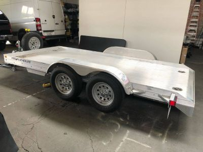 2015 Featherlite 3110 14ft Aluminum Open Car Trailer