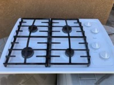 whirlpool 30 inch gas stove top/counter top