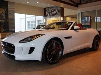 2014 Jaguar F-Type V8 S (Polaris White)