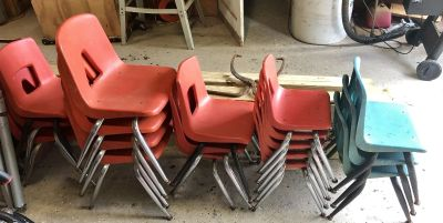 Chairs lot