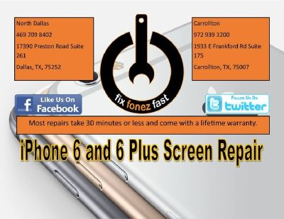iphone Unlocking repairing in Dallas - Fix Fonez Fast