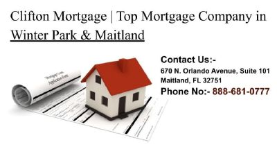 Top Mortgage Company in Winter Park & Maitland | Clifton Mortgage