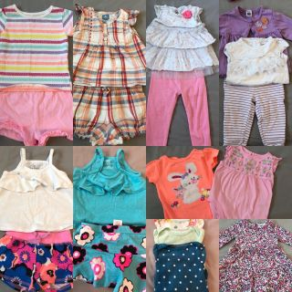 Like new 12 month clothes