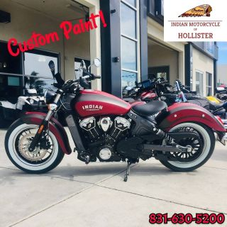 2019 Indian Scout ABS Cruiser Hollister, CA
