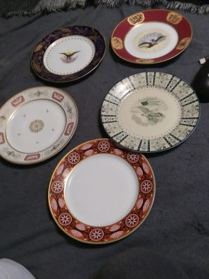 Presidential collectable plates