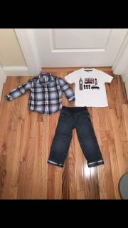 Gymboree 3 Piece Outfit Set. Size 3t. Washed, Never Worn.