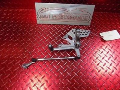 Sell 00 - 01 HONDA CBR 929 929RR OEM LEFT REAR SET WITH SHIFTER & LINKAGE STR8 9293 motorcycle in Winter Haven, Florida, United States, for US $79.95