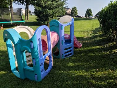 Those Heights Playset for outside