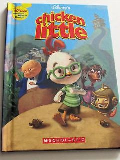 Vintage 2005 Disney Chicken Little Wonderful World of Reading Scholastic Hard Cover Book