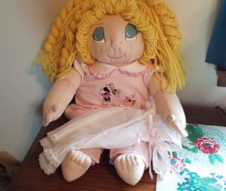 Handmade Cabbage Patch Doll
