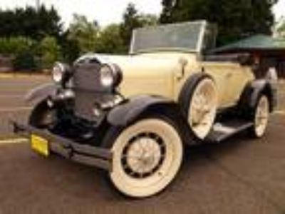 Used 1929 Shay Model A Ford Roadster in Eugene, OR