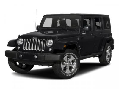 2018 Jeep Wrangler Unlimited Sahara (Bright White Clearcoat)