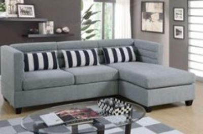 GREY SECTIONAL FREE DELIVERY