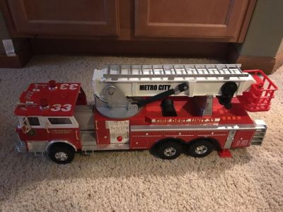 Large toy Fire Truck