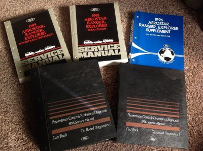 1996 Ford Ranger Service Manuals