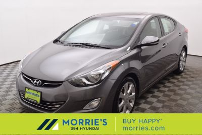 2013 Hyundai Elantra GLS (Harbor Gray Metallic)