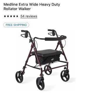 Looking for a wide walker similar to this one.