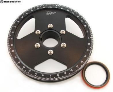SACO billet crank pulley type 1 & type 4