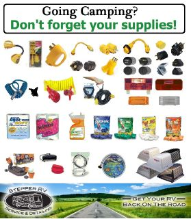 Are You Looking For RV Accessories or Parts?