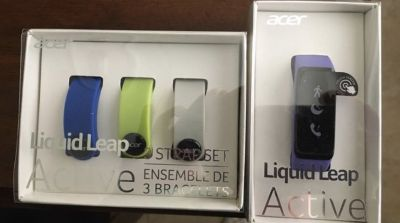 Acer Liquid Leap Active Bluetooth Technology Fitness Tracker Watch