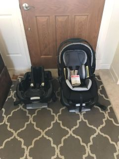 Baby Trend car seat and additional base