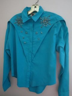 Misses Country Western Blouse