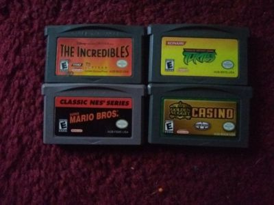 The Incredibles       teenage mutant Ninja turtles       super Mario Bros.   Golden Nugget casino