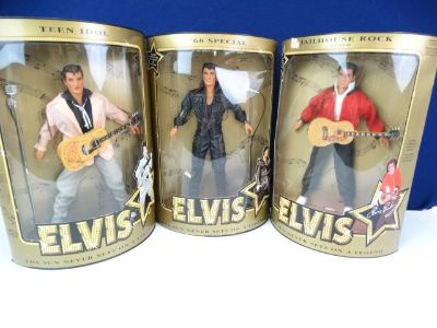 Hasbro Elvis Presley Collectible Dolls New in Package