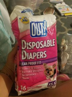 New! Doggie diapers