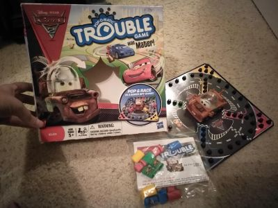 Disney cars trouble. All pieces included