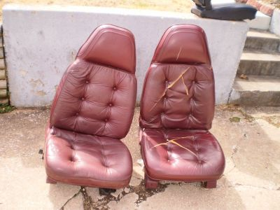 1971 72 73 74 MOPAR High Back Bucket Seats Charger Challenger Cuda DRIVERSIDE IS POWER,,,, 440 340