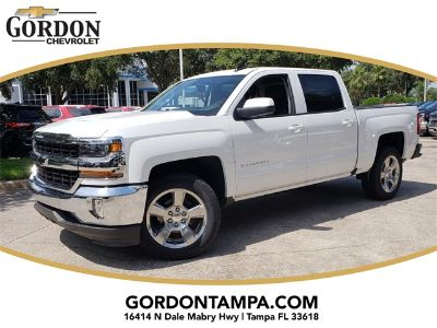 2018 Chevrolet Silverado 1500 LT (Summit White)