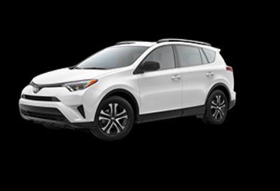 2018 Toyota RAV4 LE (Super White)