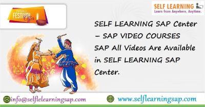SELF LEARNING SAP Center – SAP VIDEO COURSES SAP All Videos Are Available in SELF LEARNING SAP