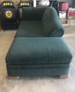 Green Sofa with Storage