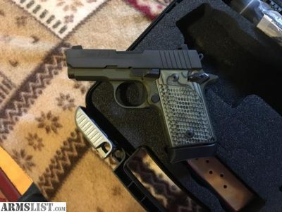 For Sale/Trade: Sig 938 army edition