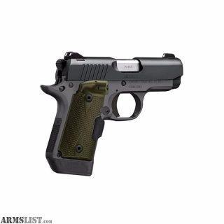 "For Sale: Kimber Micro 9 Woodland Night (LG) Pistol 9mm 3.15"""