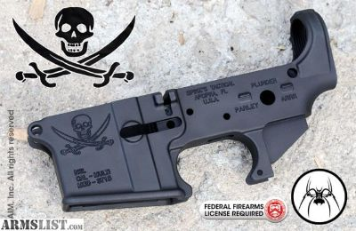 For Sale: Spikes Tactical pirate stripped lower...never built