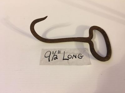 Antique Steel hay hook Porch Pickup Marquette Hts Only