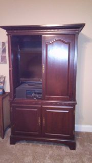 Fine Furniture -TV Armoire very heavy need to sell Call 478-987-0182