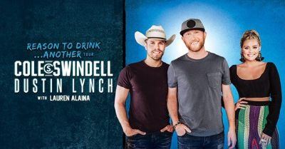 (2/4) Cole Swindell & Dustin Lynch Concert Tix - BELOW COST - Fri, Oct 19!
