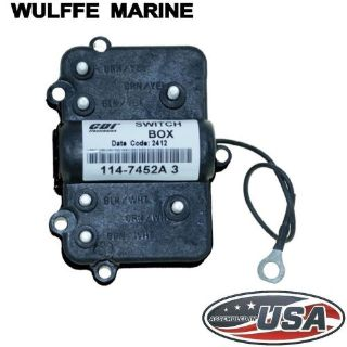 Find Switch Box Mercury Outboard 2 cylinder 18-40 Hp 114-7452A3 Rplcs 339-7452A2, A3 motorcycle in Mentor, Ohio, United States, for US $113.90